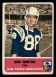 1962 Fleer #78  Don Norton  Front Thumbnail