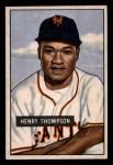1951 Bowman #89  Hank Thompson  Front Thumbnail