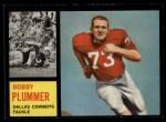 1962 Topps #48  Bobby Plummer  Front Thumbnail