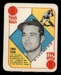 1951 Topps Red Back #3  Ferris Fain  Front Thumbnail