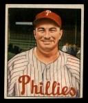 1950 Bowman #225  Eddie Sawyer  Front Thumbnail