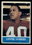 1964 Philadelphia #193  Lonnie Sanders  Front Thumbnail