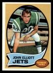 1970 Topps #54  John Elliott  Front Thumbnail