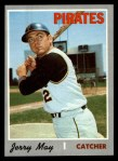 1970 Topps #423  Jerry May  Front Thumbnail