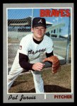 1970 Topps #438  Pat Jarvis  Front Thumbnail