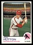 1973 Topps #271  Tom Hutton  Front Thumbnail