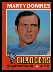 1971 Topps #66  Marty Domres  Front Thumbnail