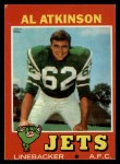 1971 Topps #48  Al Atkinson  Front Thumbnail