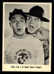 1965 Fleer Gomer Pyle #5   Pyle Am I in Good Voice Today? Front Thumbnail