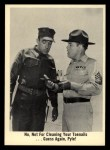 1965 Fleer Gomer Pyle #25   No Not for Cleaning Your Toenails Front Thumbnail