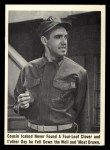 1965 Fleer Gomer Pyle #36   Cousin Icabod Never Found Front Thumbnail