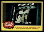 1977 Topps Star Wars #166   A close call for Luke and Leia Front Thumbnail