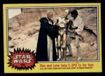 1977 Topps Star Wars #133   Ben and Luke w/C-3PO Front Thumbnail