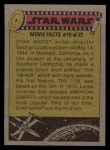 1977 Topps Star Wars #282   Hurry upwe're gonna have company Back Thumbnail