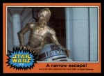 1977 Topps Star Wars #278   A narrow escape! Front Thumbnail