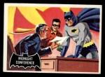 1966 Topps Batman Black Bat #4   Midnight Conference Front Thumbnail