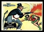 1966 Topps Batman Black Bat #19   Fiery Encounter Front Thumbnail