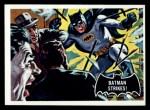 1966 Topps Batman Black Bat #12   Batman Strikes Front Thumbnail