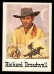 1966 Leaf Good Guys Bad Guys #6  Richard Broadwell  Front Thumbnail