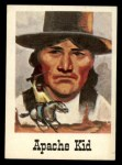 1966 Leaf Good Guys Bad Guys #68  Apache Kid  Front Thumbnail