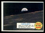 1969 Topps Man on the Moon #23 A  Earthlight Front Thumbnail