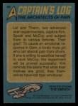1976 Topps Star Trek #68   The Architects of Pain Back Thumbnail