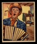 1949 Bowman Wild West #12 H Pat Brady  Front Thumbnail