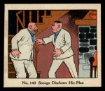 1931 Johnson Candy Dick Tracy R41 #140   Stooge Discloses His Plan Front Thumbnail
