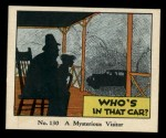 1931 Johnson Candy Dick Tracy R41 #130   Mysterious Visitor Front Thumbnail