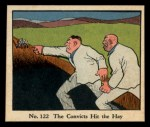 1931 Johnson Candy Dick Tracy R41 #122   The Convicts Hit the Hay Front Thumbnail