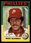 1975 Topps #70  Mike Schmidt  Front Thumbnail