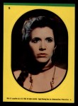 1983 Topps Star Wars Return of the Jedi Stickers #9  Princess Leia  Front Thumbnail