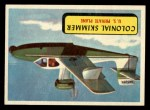 1957 Topps Planes #43 BLU  Colonial Skimmer Front Thumbnail