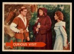 1957 Topps Robin Hood #54   Curious Visit Front Thumbnail