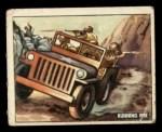 1950 Topps Freedoms War #147   Running Fire  Front Thumbnail