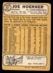 1968 Topps #227  Joe Hoerner  Back Thumbnail