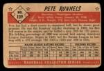 1953 Bowman #139  Pete Runnels  Back Thumbnail