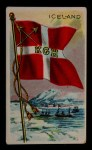 1911 Flags of All Nations T59 #66 BR  Iceland Front Thumbnail