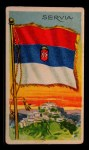 1911 Flags of All Nations T59 #119 BR  Servia Front Thumbnail