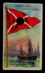 1911 Flags of All Nations T59 #171 BR  Hamburg Yacht Club Front Thumbnail