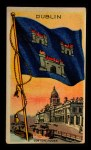 1911 Flags of All Nations T59 #36 BR  Dublin Front Thumbnail