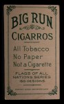 1911 Flags of All Nations T59 #54 BR  Glasgow Back Thumbnail