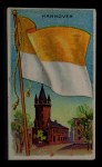1911 Flags of All Nations T59 #58 BR  Hannover Front Thumbnail