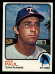 1973 Topps #58  Mike Paul  Front Thumbnail