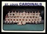 1973 Topps #219   Cardinals Team Front Thumbnail