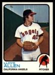 1973 Topps #267  Lloyd Allen  Front Thumbnail