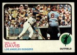 1973 Topps #35  Willie Davis  Front Thumbnail