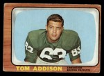 1966 Topps #1   Tommy Addison  Front Thumbnail