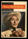 1958 Topps TV Westerns #34   Yancy the Gambler  Front Thumbnail
