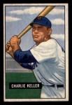 1951 Bowman #177  Charlie Keller  Front Thumbnail